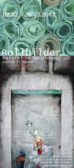 Rollbilder Ausstellung Judith Silbeer