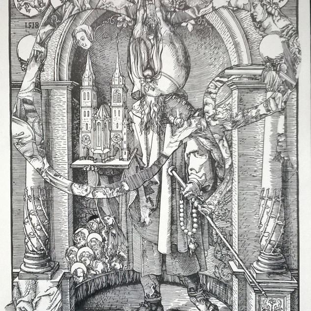 Original 1518, Der Heilige Sebald in der Nische