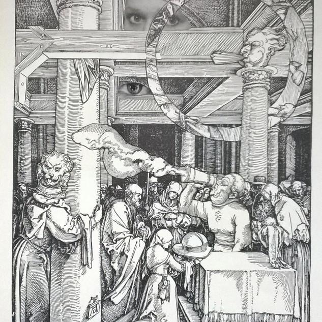Original, 1503, Darbringung Christi im Tempel