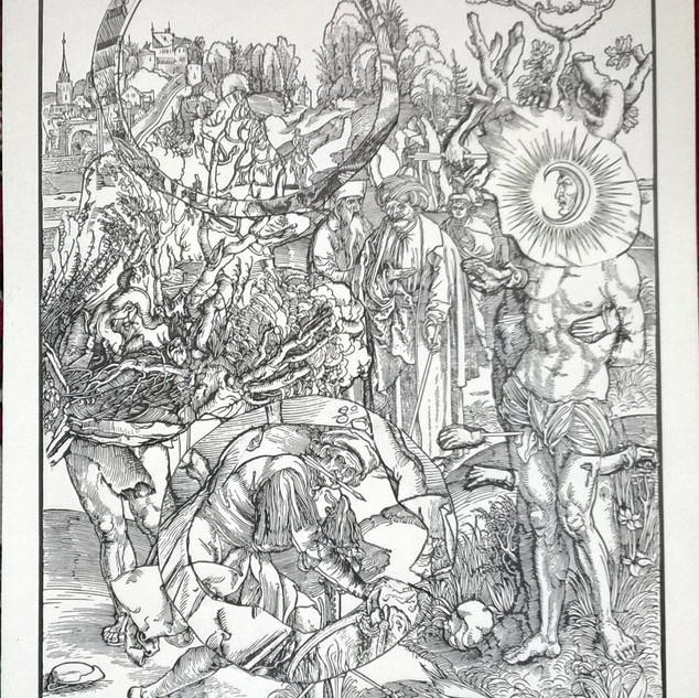 Original, ca. 1498, Martyrium des Hl. Sebastian