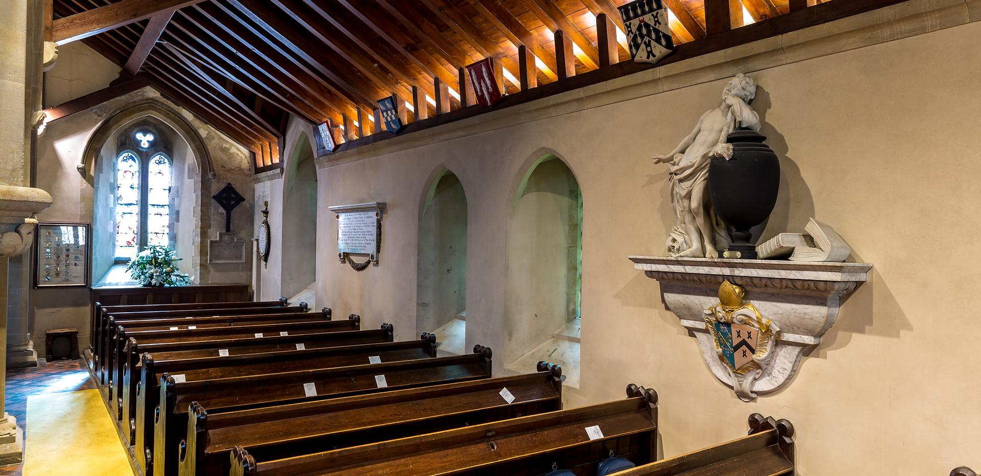 Highclere Church - South Aisle