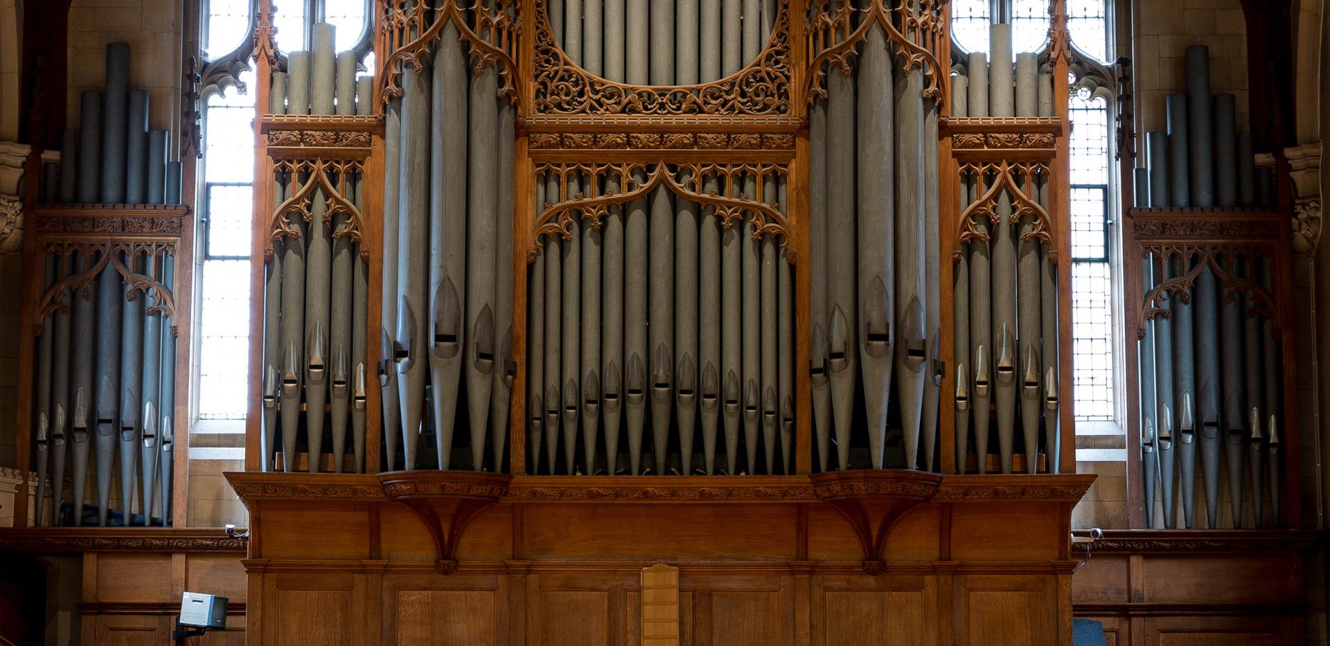 Malvern College Chapel Organ Balcony