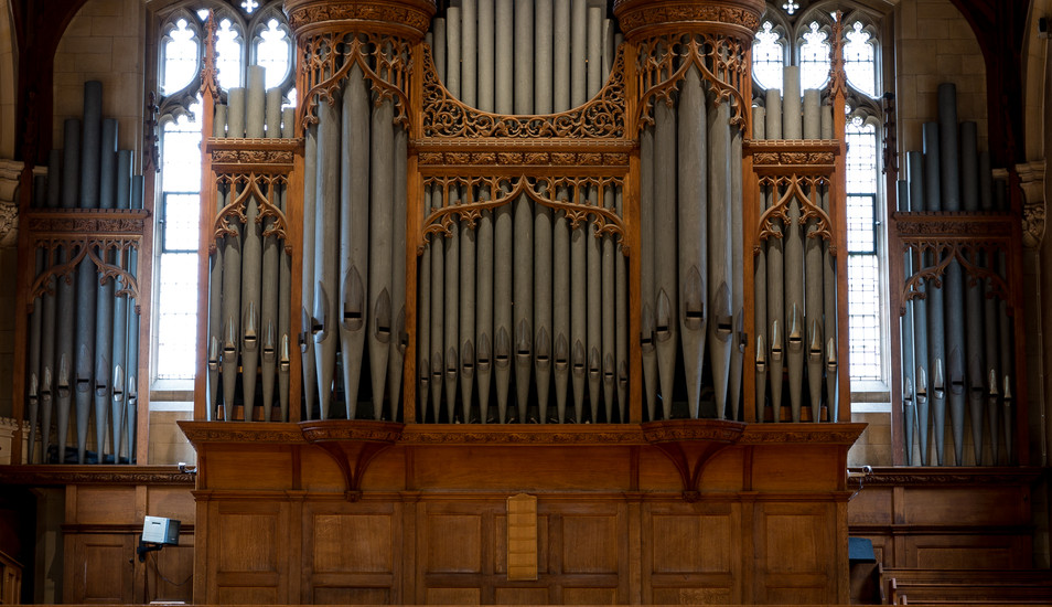 Malvern College Chapel Organ Balcony