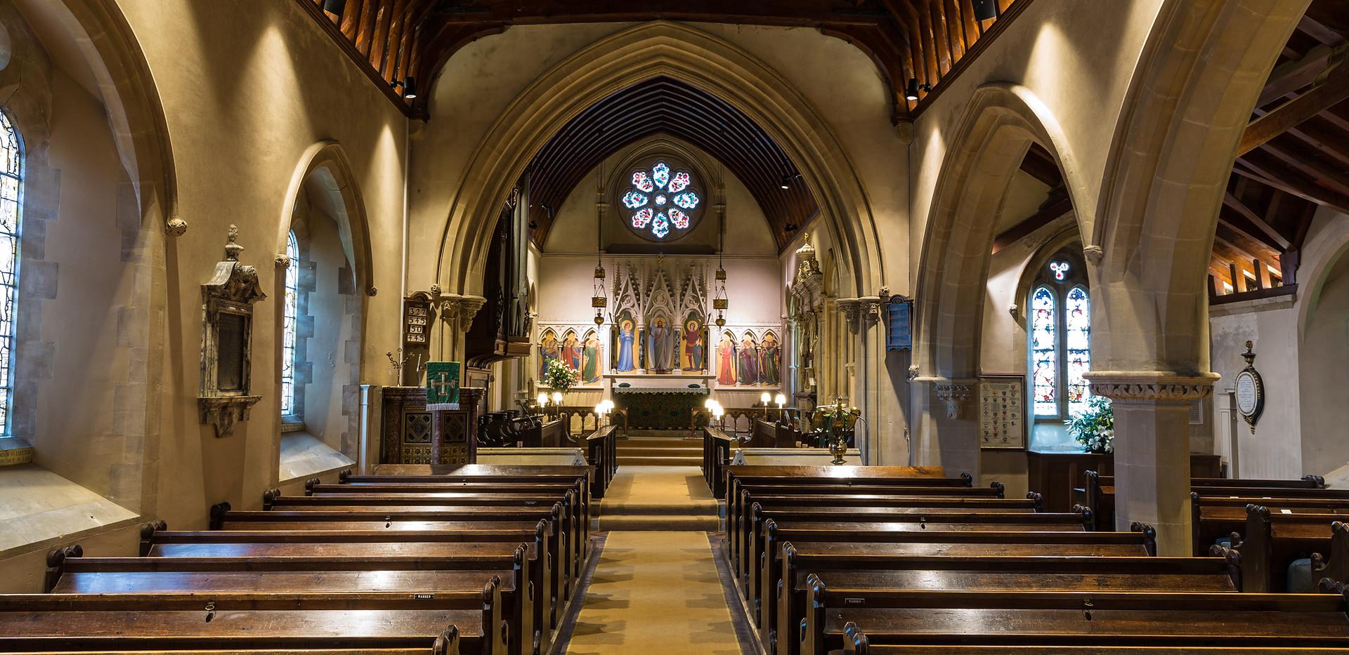 Highclere Church - Nave