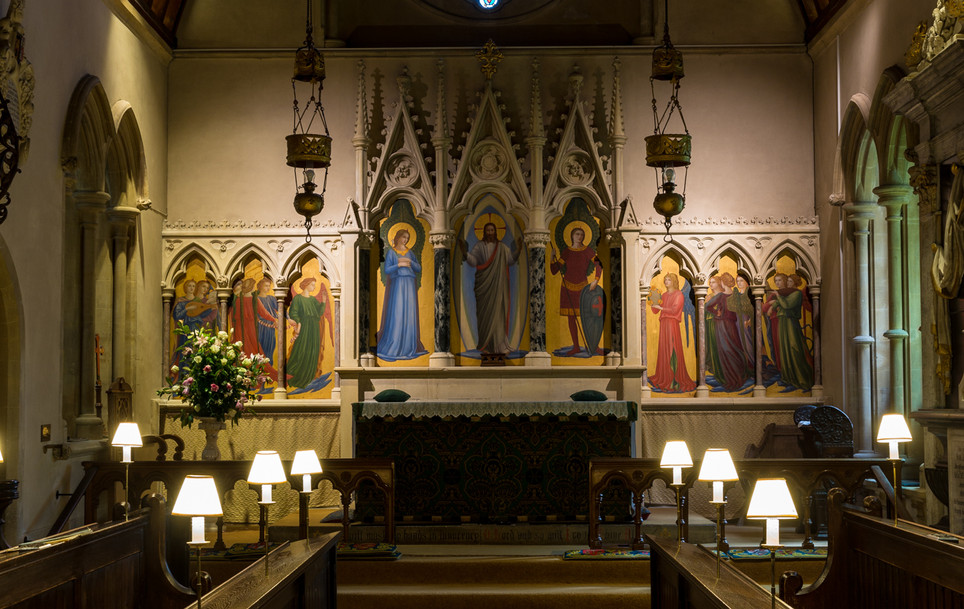 Highclere Church - Chancel