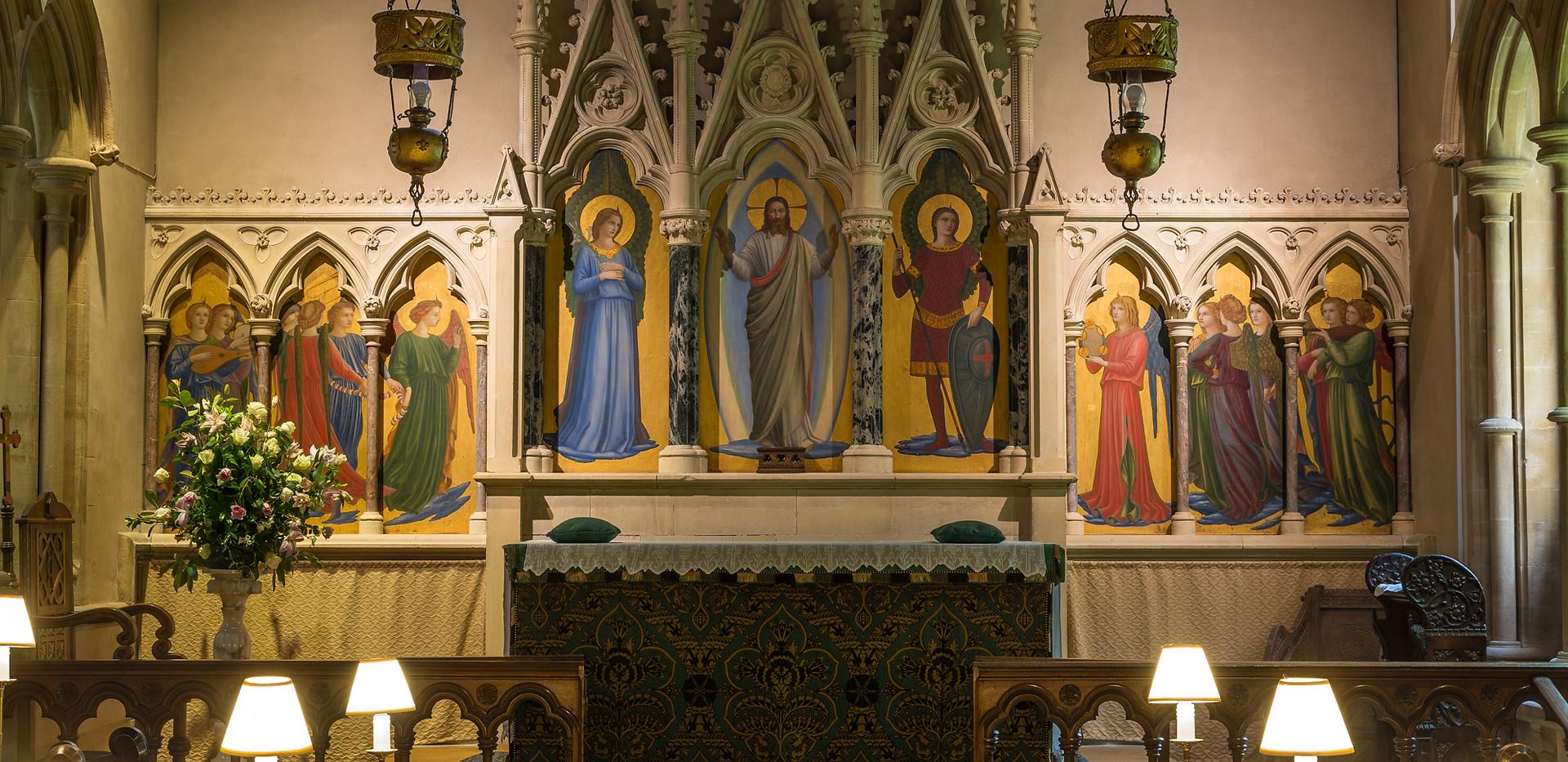 Highclere Church - Altar