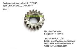 Spur Gear, D124600