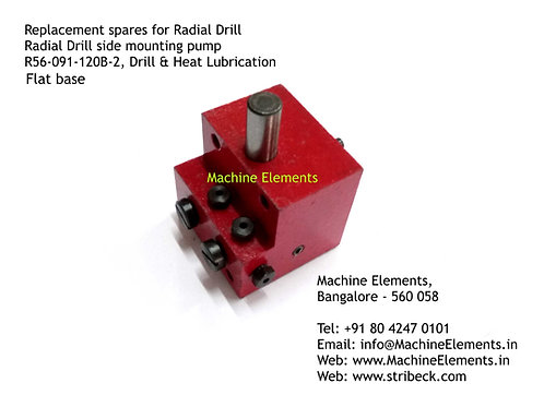 Pump for HMT Radial Drill - flat base type