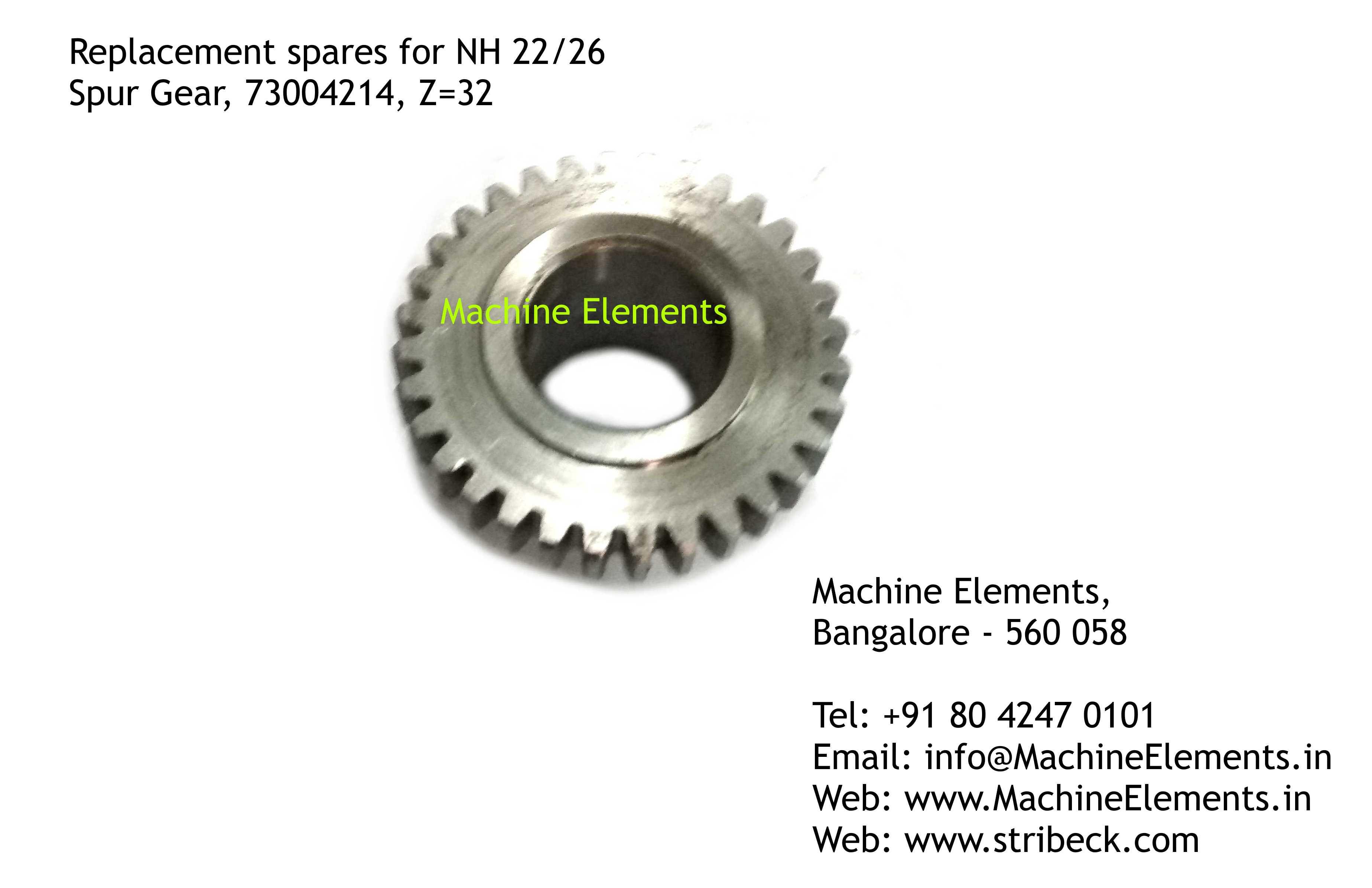 Spur Gear, 73004214, Z=32