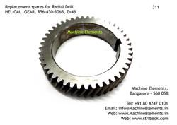 HELICAL GEAR, R56-430-306B, Z=45