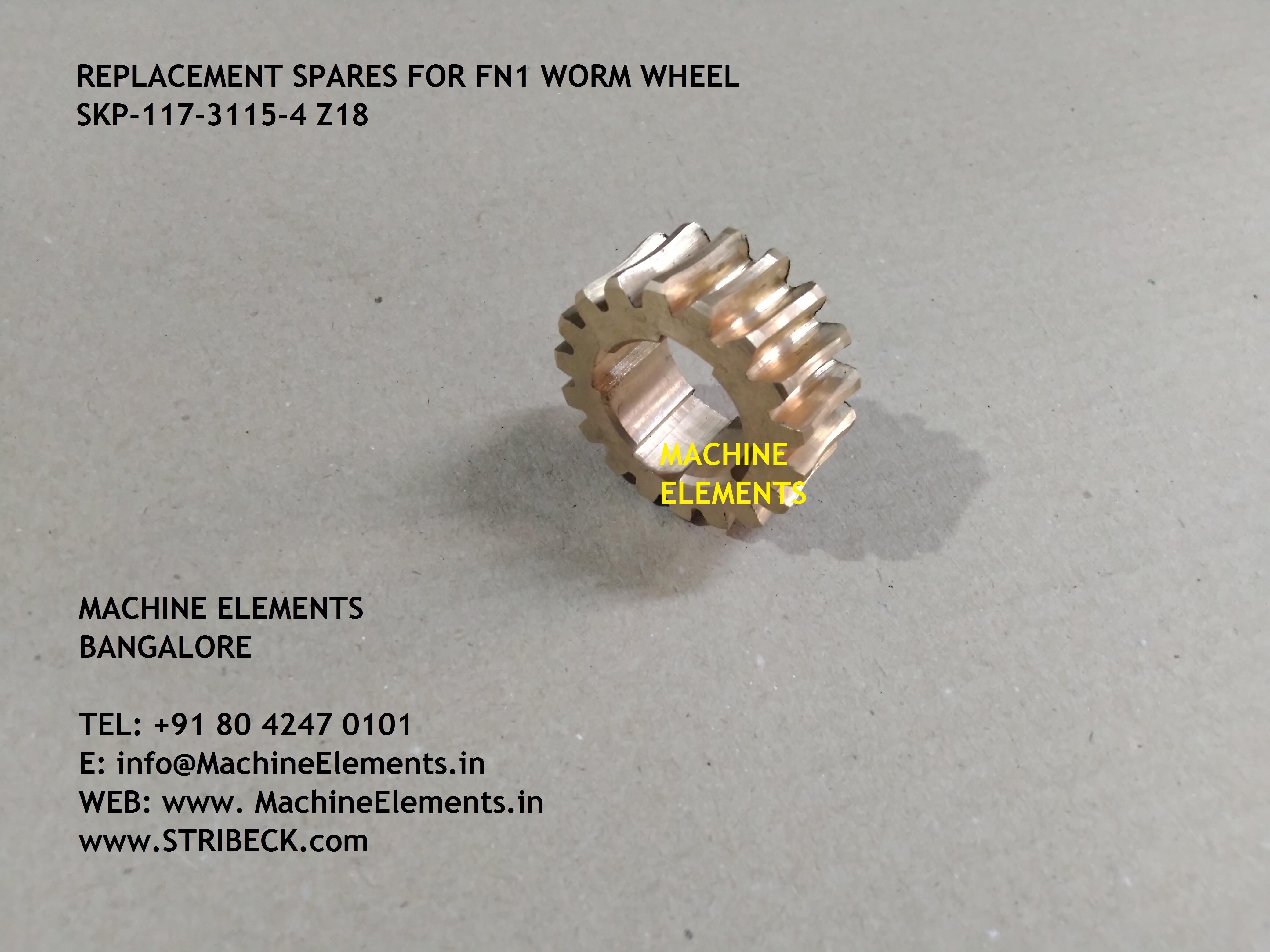 WORM WHEEL SKP-117-3115-4 Z18