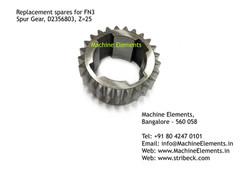 Spur Gear, 2356803, Z=25
