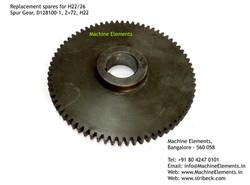 Spur Gear, D128100-1, Z=72