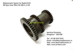 RM Spur Gear R56-210-300-4, Z=65