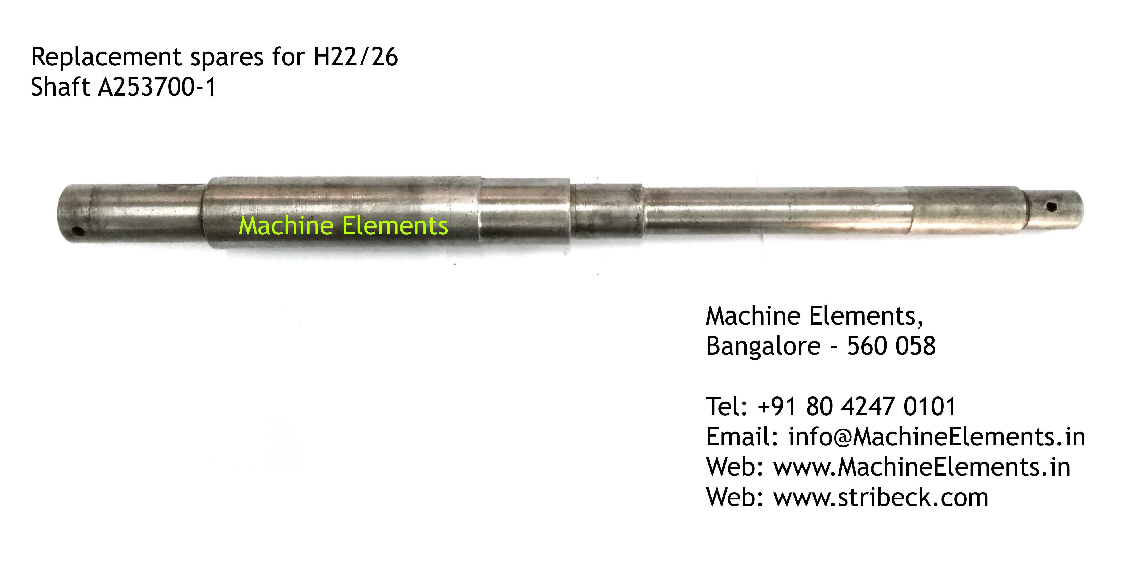 Shaft A253700-1