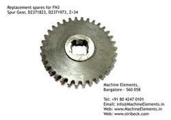 Spur Gear, D2371823, D2371973, Z=34