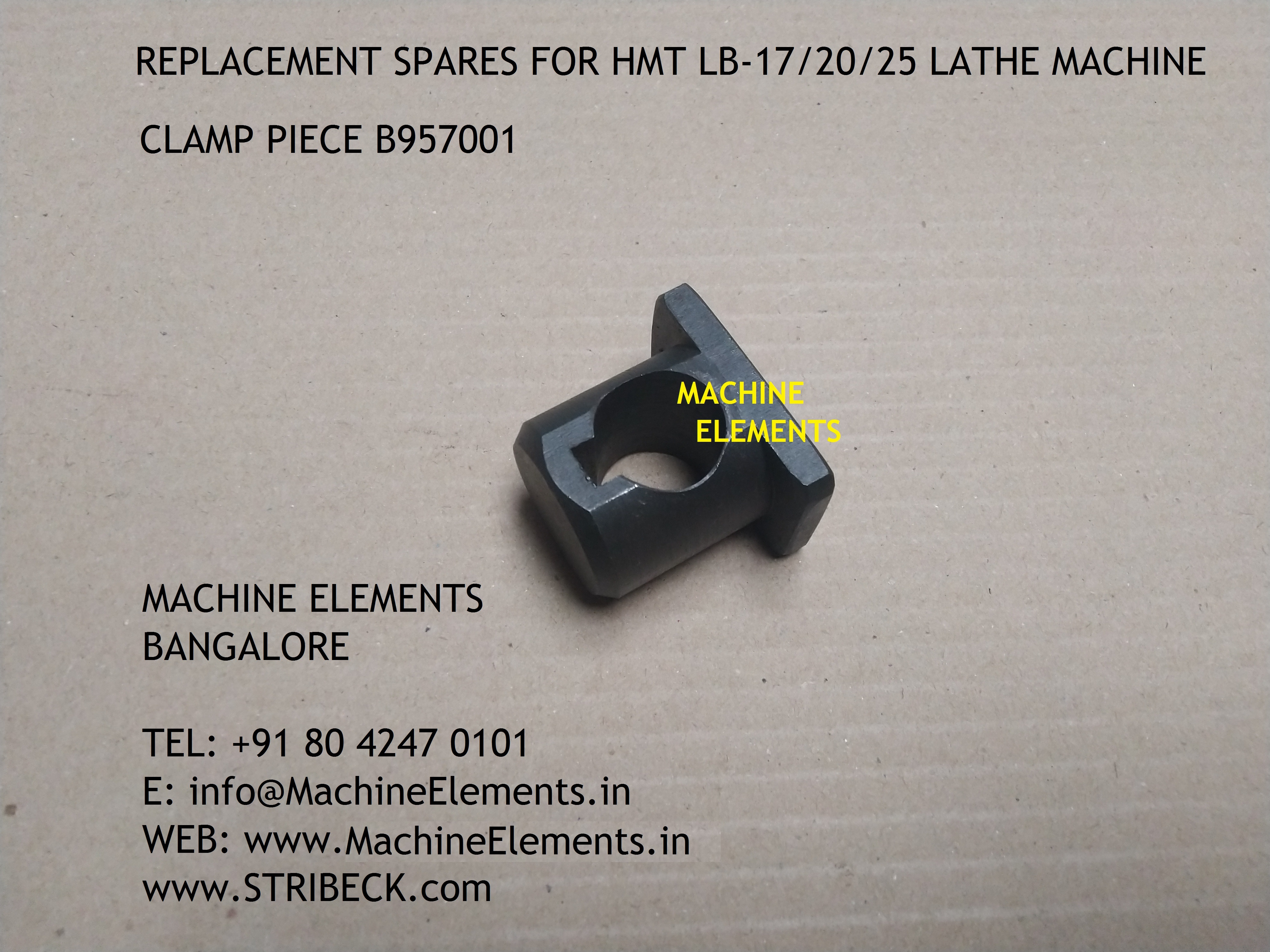 CLAMP PIECE B957001