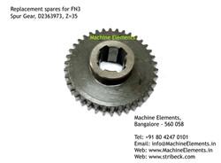 Spur Gear, D2363973, Z=35