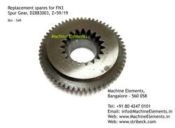 Spur Gear, D2883003