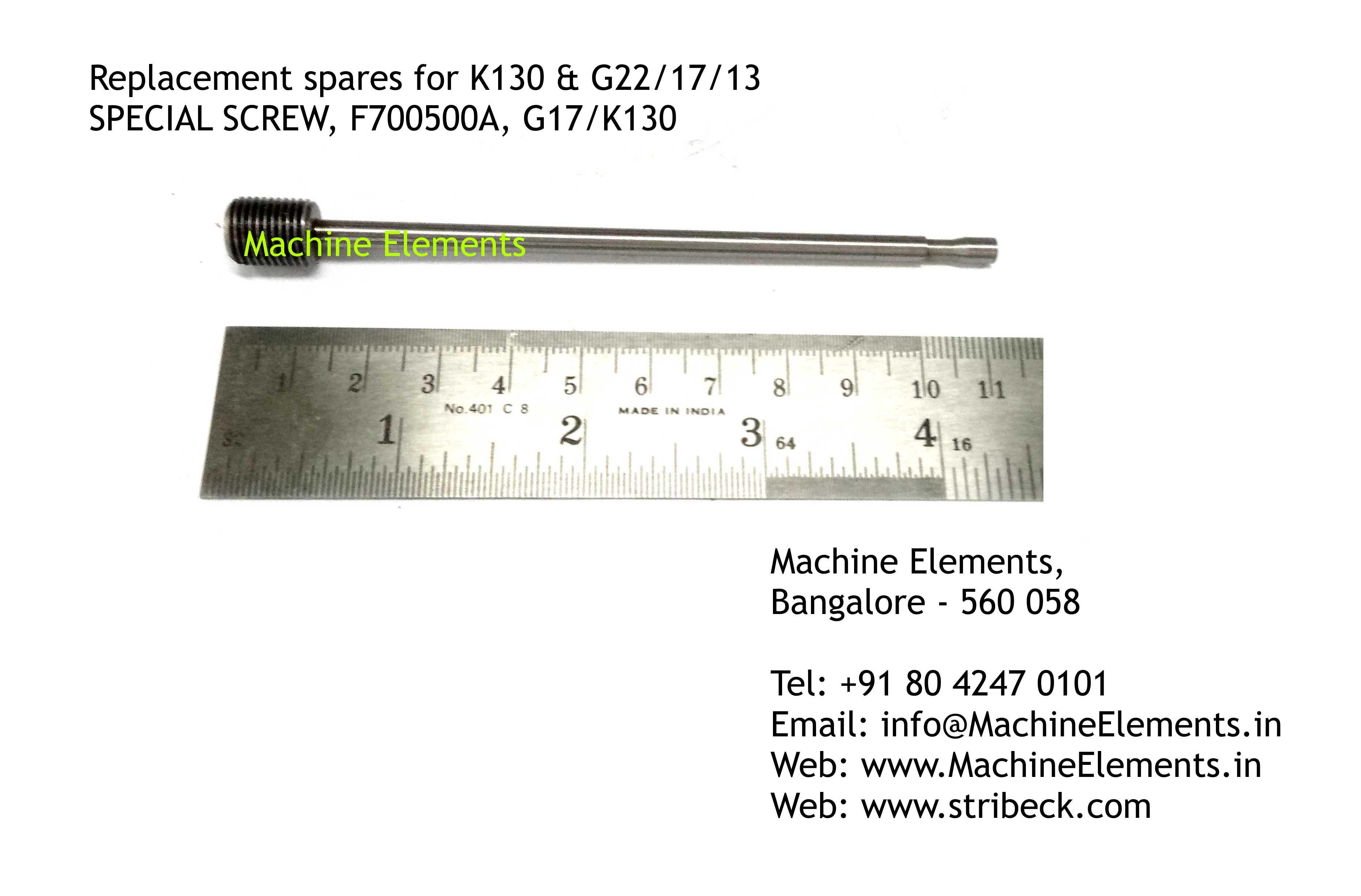 SPECIAL SCREW, F700500A