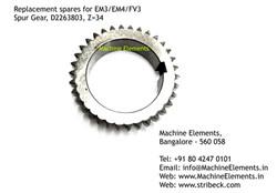 Spur Gear, D2263803, Z=34