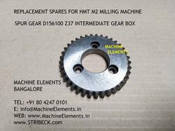 SPUR GEAR D156100 z37 INTERMEDIATE BOX