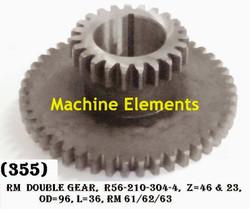 R56-210-304-4-Z46 & 23 DOUBLE GEAR
