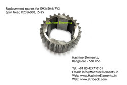 Spur Gear, D2356803, Z=25