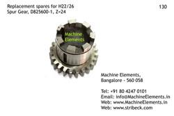 Spur Gear, D825600-1, Z=24