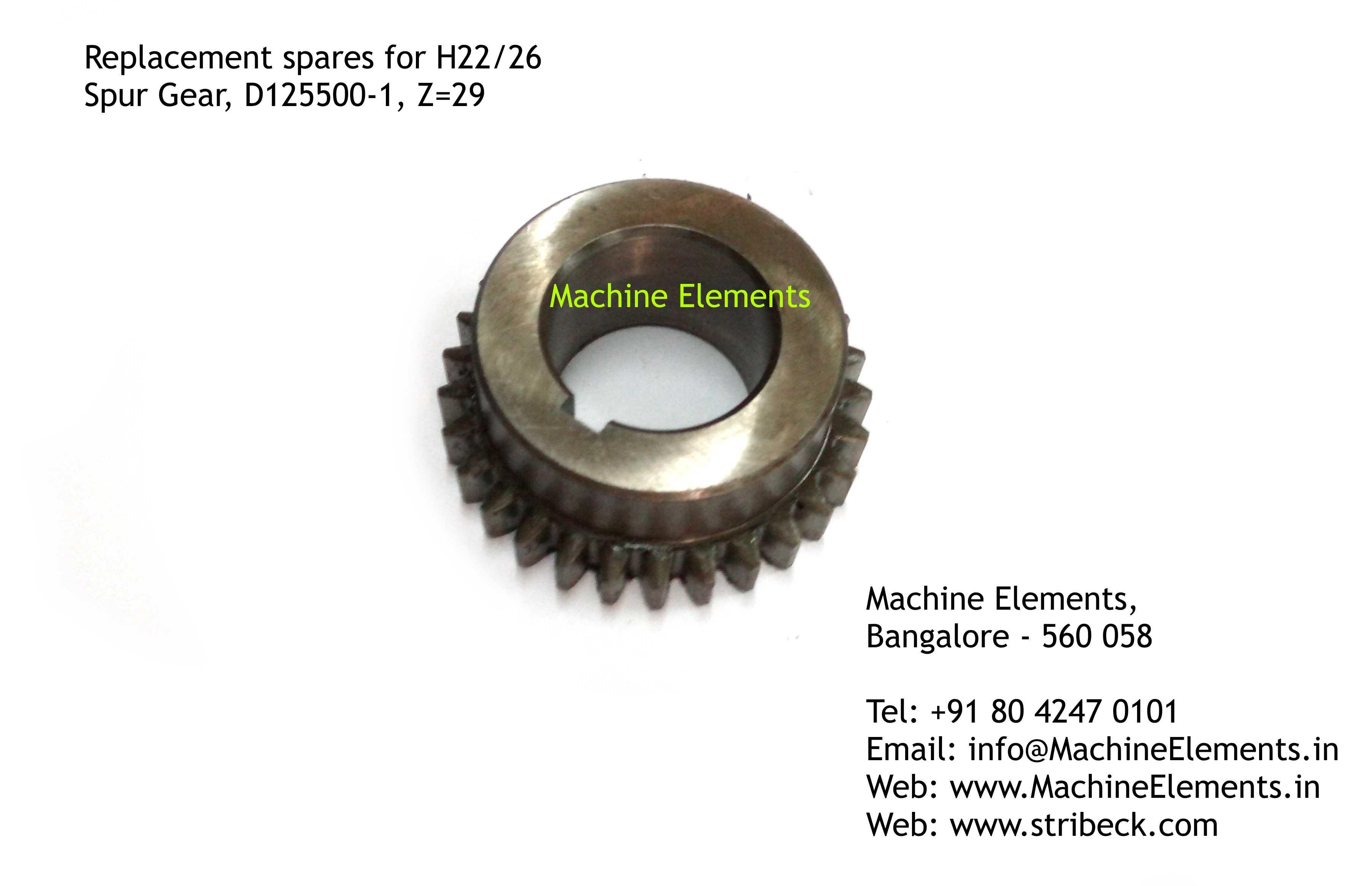 Spur Gear, D125500-1
