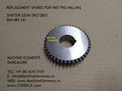 Shifter gear D9272803 bin 485 z41