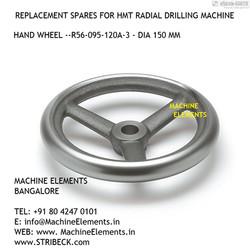 HAND WHEEL R56-095-120A-3 - DIA 150 MM