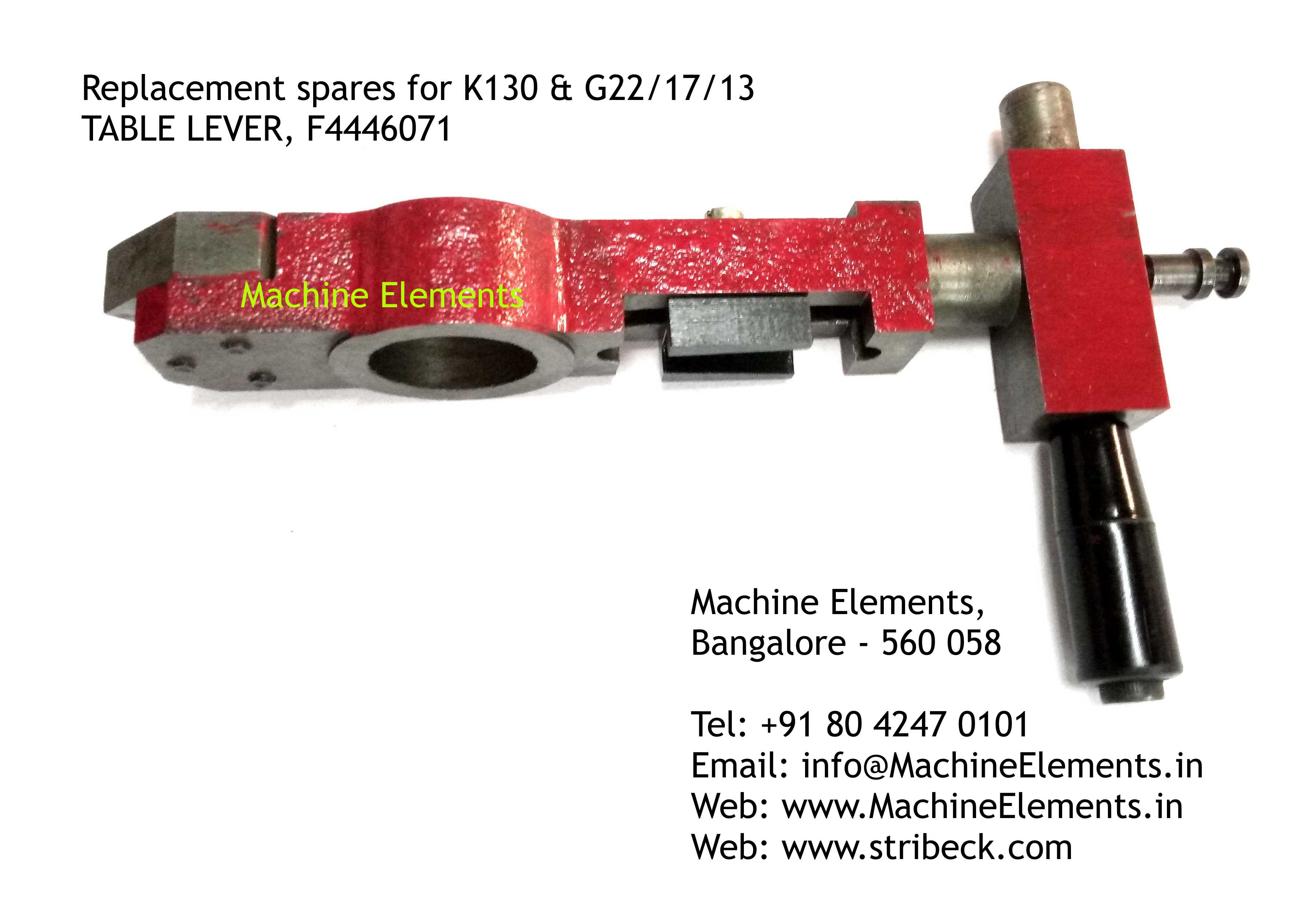 TABLE LEVER, F4446071