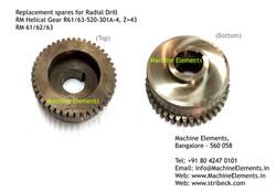 RM Helical Gear R61 or 63-520-301A-4, Z=