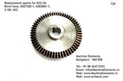 Bevel Gear, E027300-1, E065809-1, Z=58