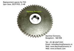 Spur Gear, D2371933, Z=48