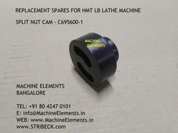 SPLIT NUT CAM - C695600-1