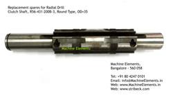 Clutch Shaft, R56-431-200B-3, Round Type