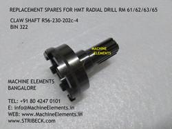 CLAW SHAFT R56-230-202c-4 BIN 322