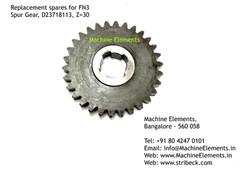 Spur Gear, D2371813, Z=30