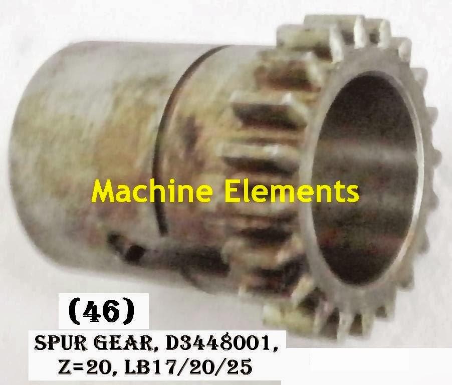 D3448001 spur gear z-20