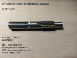 pinion shaft