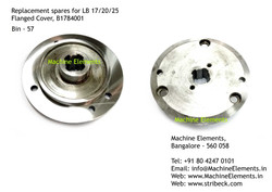Flanged Cover, B1784001