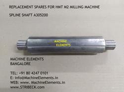 SPLINE SHAFT A305200