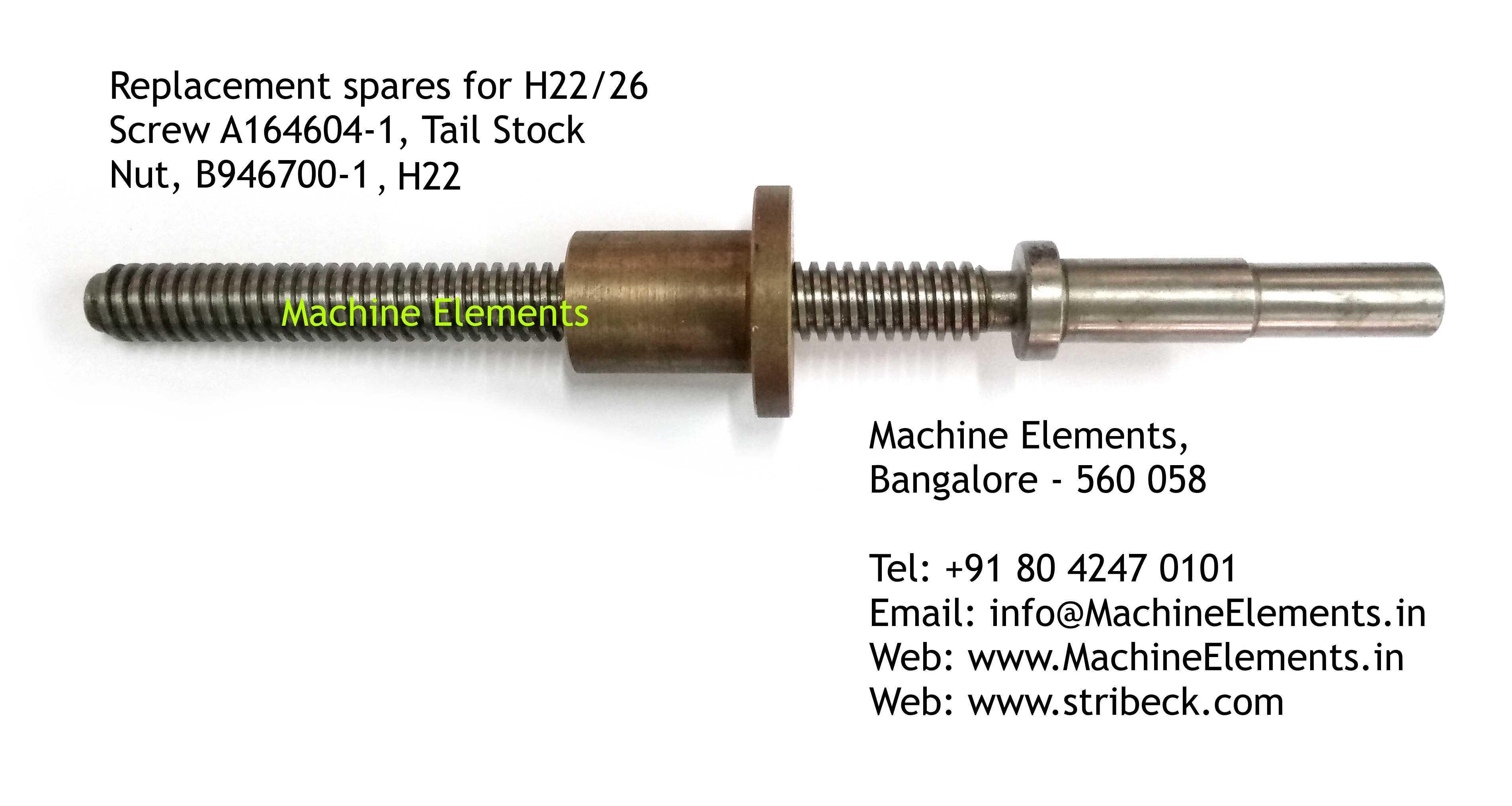 Screw, A164604-1