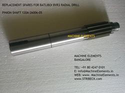 PINIION SHAFT 120A-26006-05