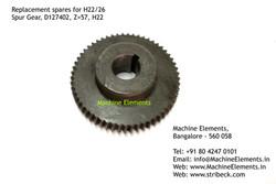 Spur Gear, D127402, Z=57