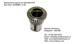 Spur Gear, D4368803, Z=30