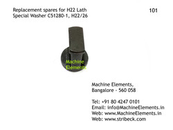 Special Washer C51280-1, H22 or 26