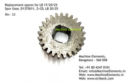 Spur Gear, D1375011, Z=25